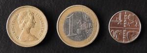 Pfund und Euro