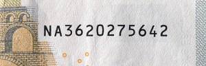 Seriennummer 5er neu