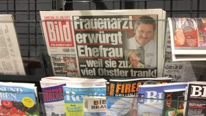 BLÖD BLÖDER Zeitung