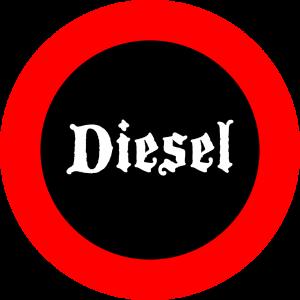 Dieselfahrverbot. Grafik©2017 Achim Munck